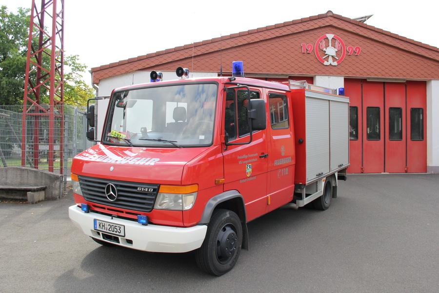 TSF-W auf Mercedes Benz Vario 614 D  Tankinhalt 650 Liter