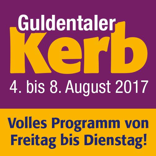 Guldentaler Kerb 4. bis 8. August 2017